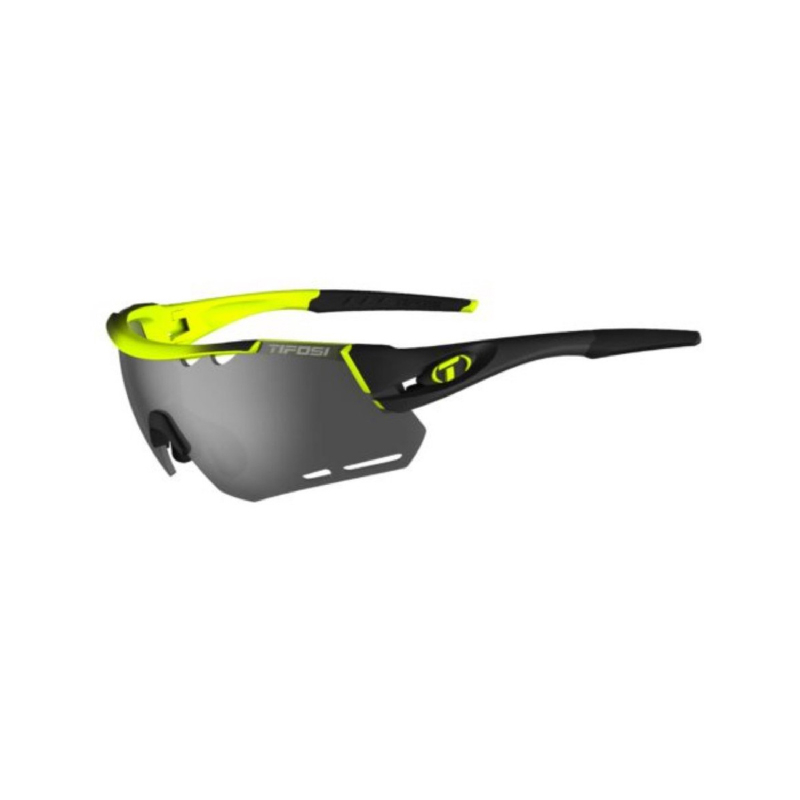 Tifosi Alliant Race Neon Sunglasses 3 Lenses Smoke-Ac Red-Clear
