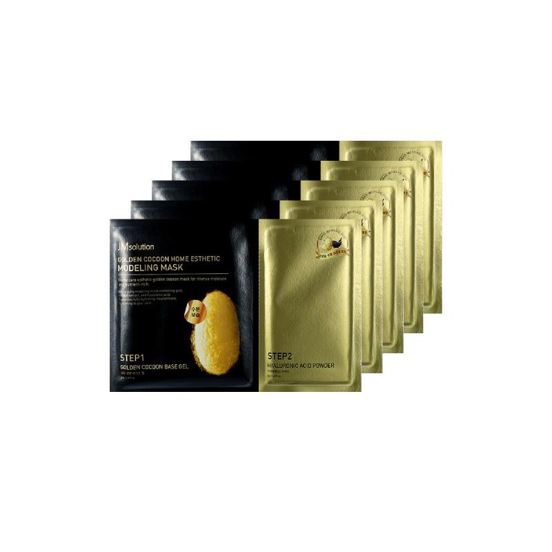 Jm Solution Golden Cocoon Home Esthetic Modeling Mask 5Pcs
