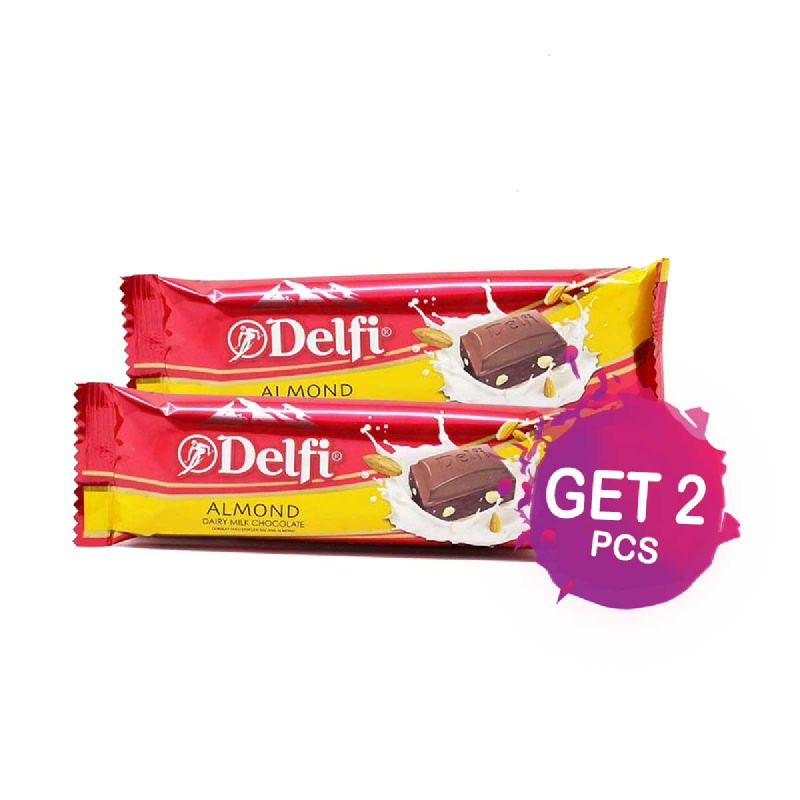 Delfi Chocolate Almond 60 Gr (Get 2)