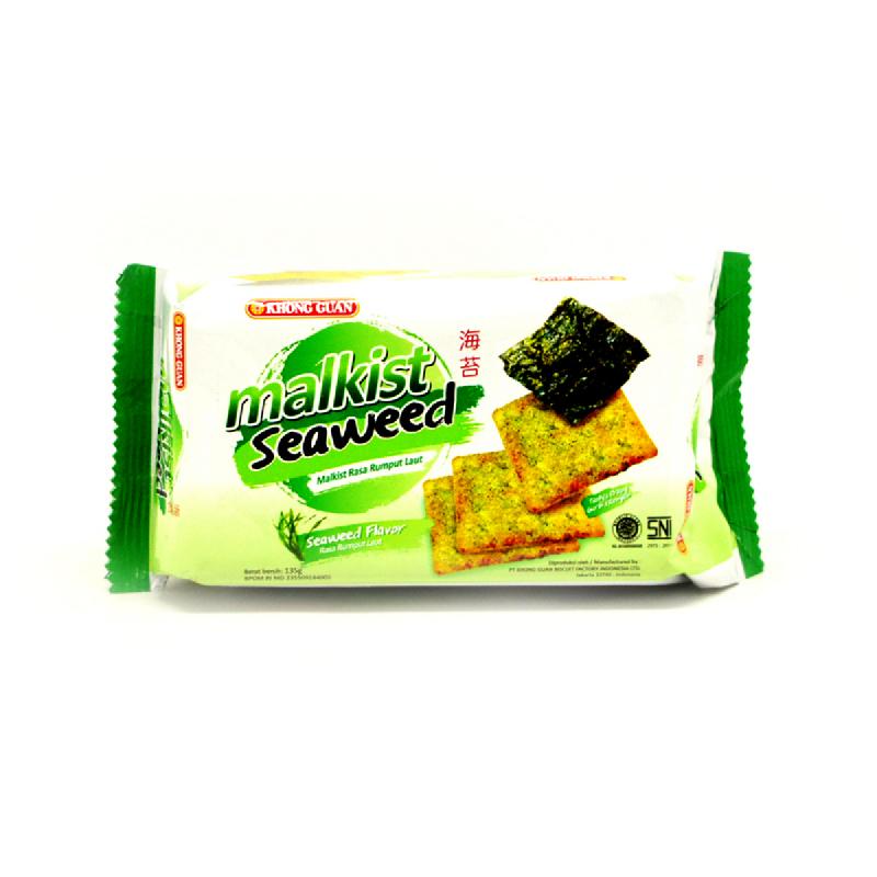 Khong Guan Malkist Cracker Seaweed 135G