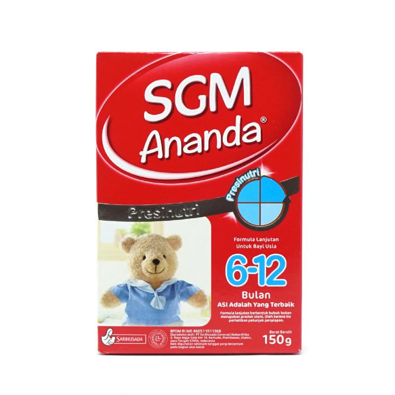 Sgm Ananda 6-12 Bulan Box 150g
