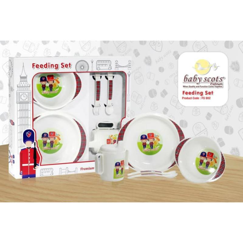 Baby Scots Feeding Set Type 02FS002 White