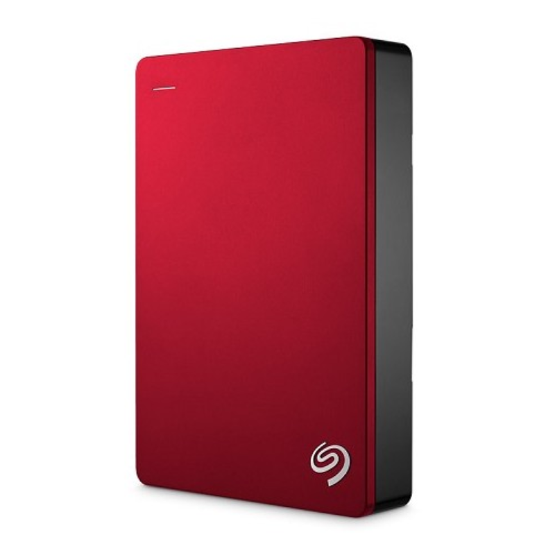 Seagate BACKUP PLUS SLIM + Pouch 4TB RED