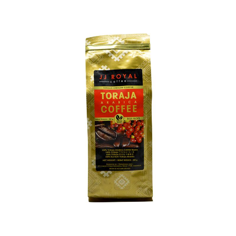 JJ Royal Kopi Arabica Beans 200 Gr