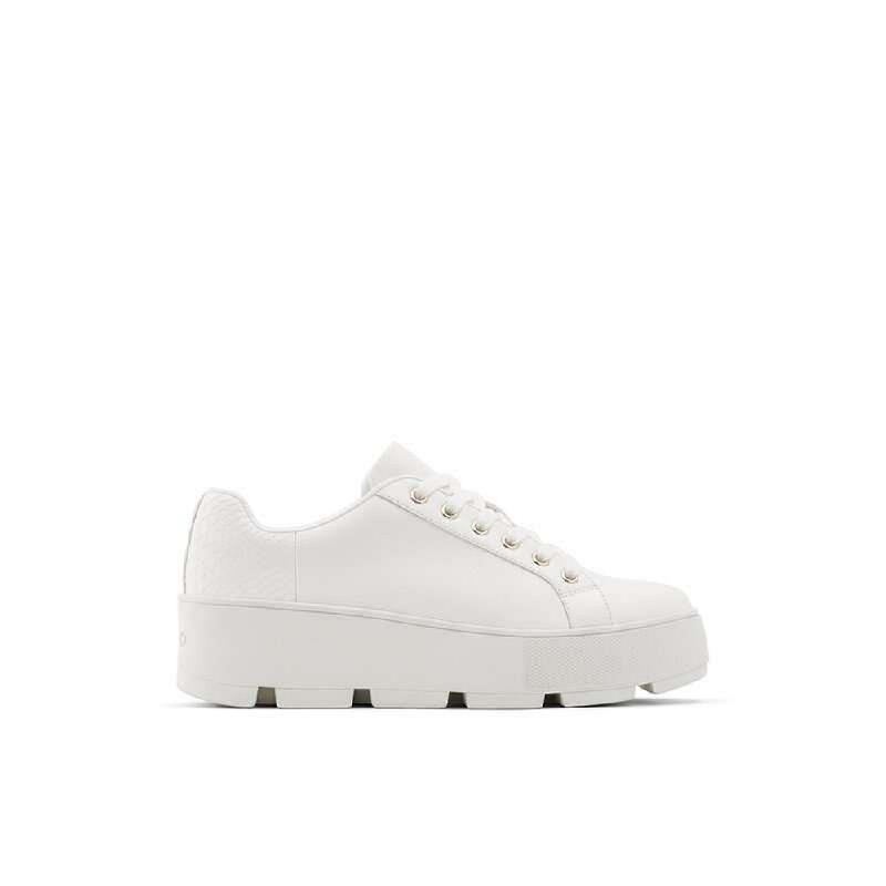 ALDO Ladies Footwear Snekaers GLADESVILLE-100-Bright White
