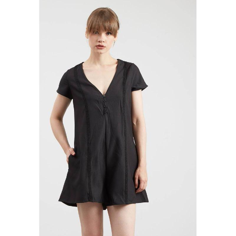 Gwen Potsdam Dress in Black
