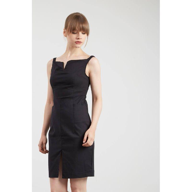 Gwen Katzenel Dress in Black