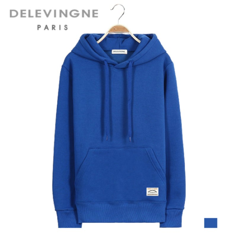 Yvonne Royal Blue Hoodie Long Sleeve Big Size Unisex