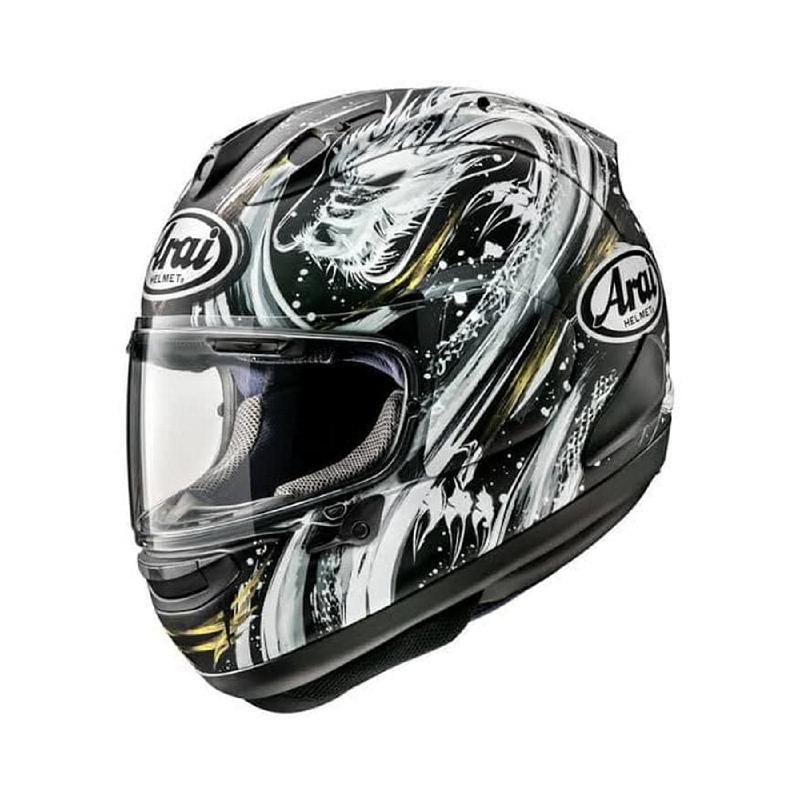 Arai RX7X Kiyonari Helm Motor Full Face Biker Dragon