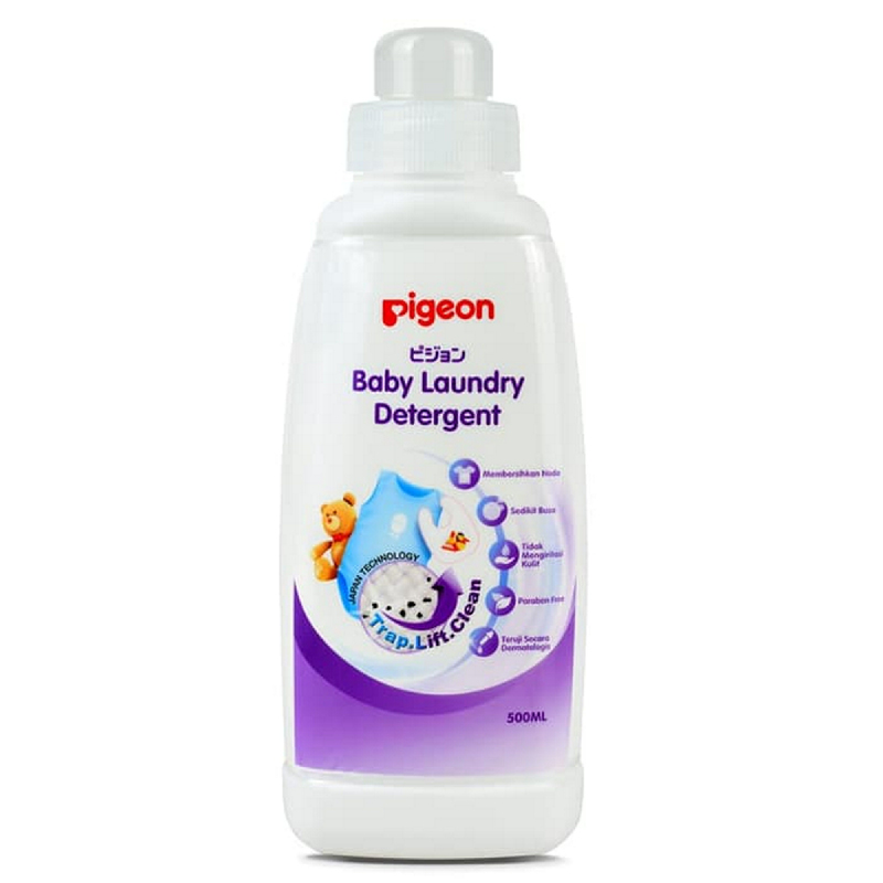 Pigeon Liquid Laundry Detergent 500ml Bottle
