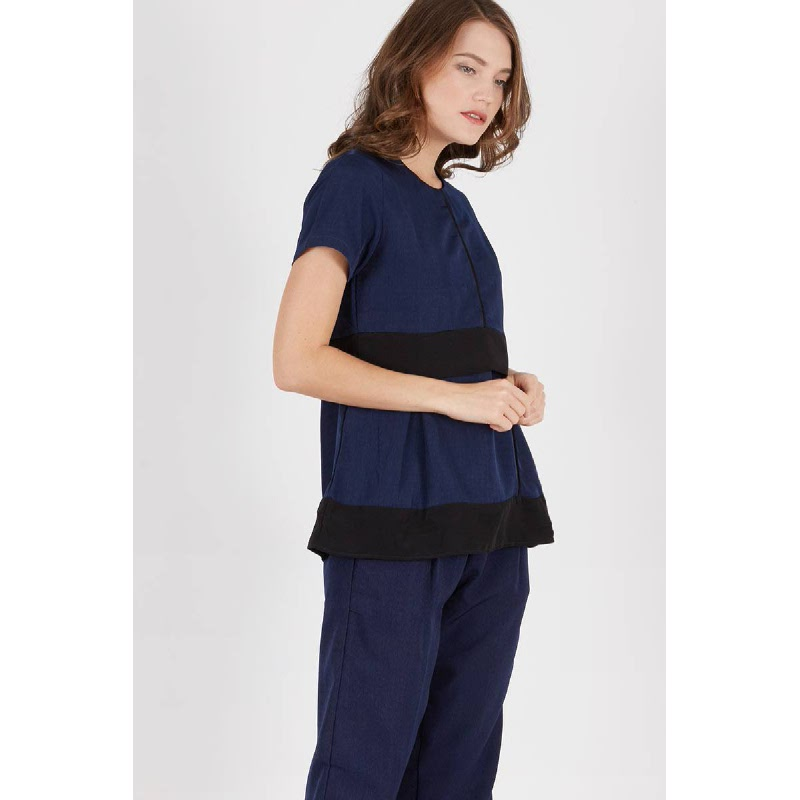 Phynley Top Navy