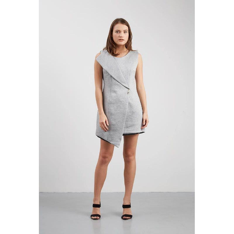 Cherryca Dress Grey