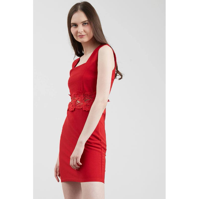 Francois Sinzig Dress in Red