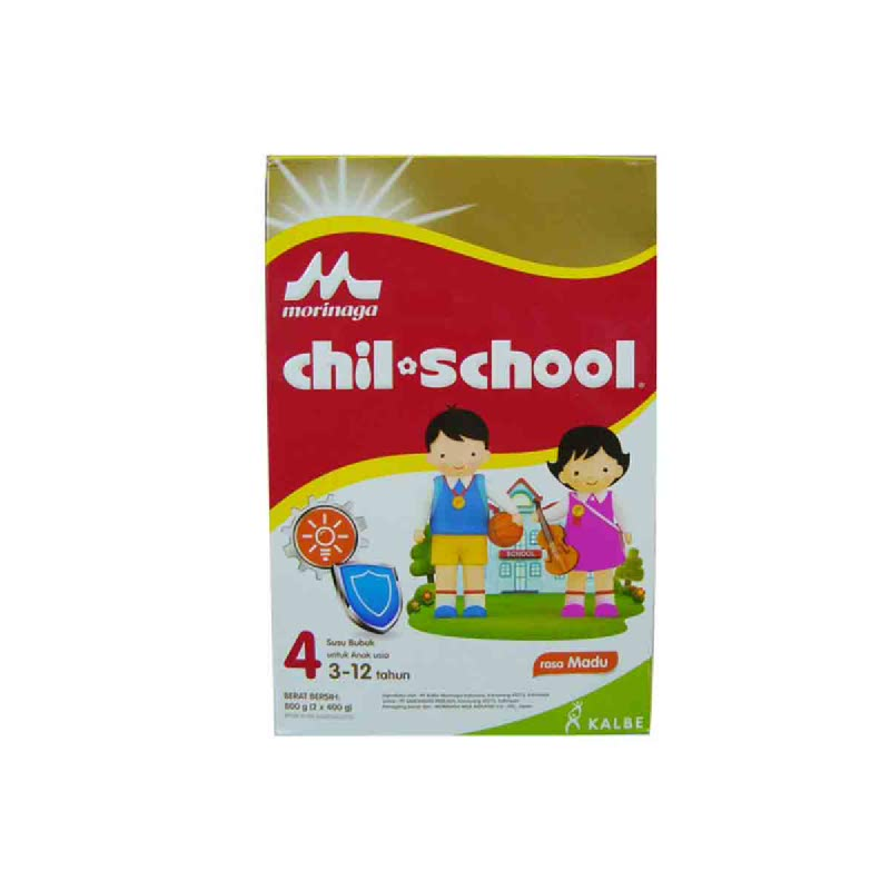Morinaga Powder Milk Chil School Gold Madu Box 800 Gr