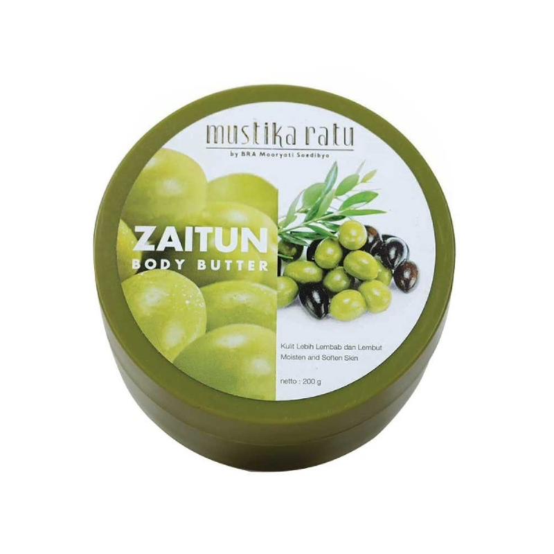 Mustika Ratu Zaitun Body Scrub 200 Gr