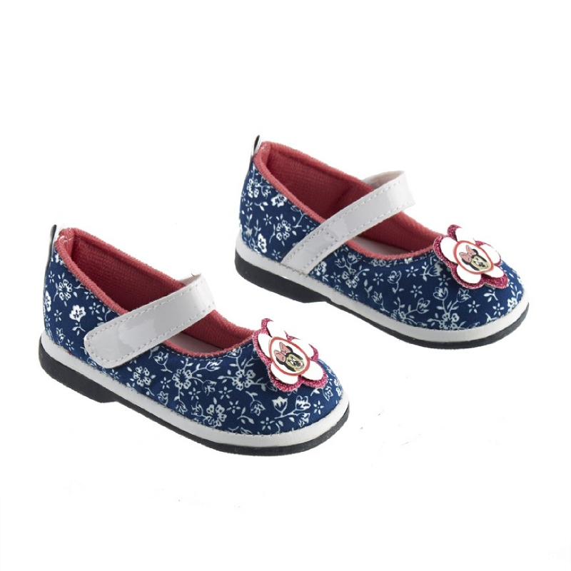 Minnie Mouse Baby Shoes Biru-Putih