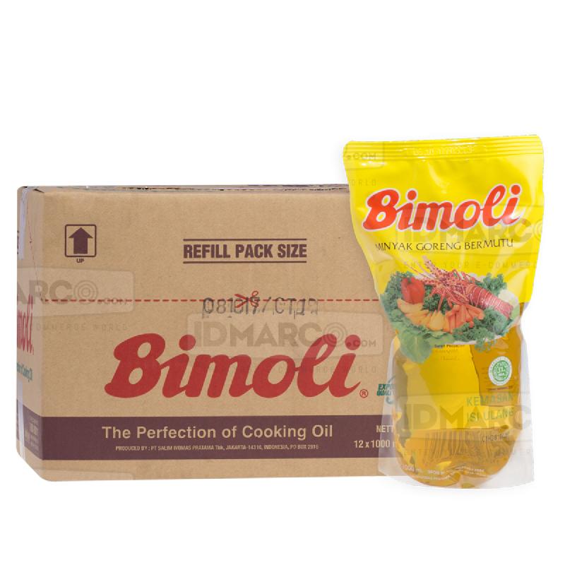 Bimoli Minyak Goreng 1 Liter Pouch