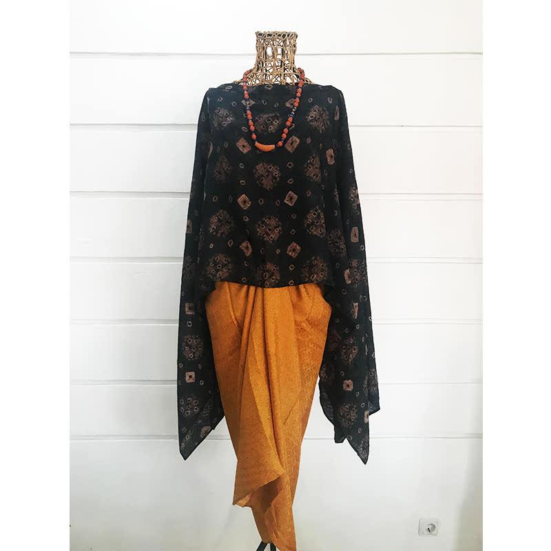 Batik Chic Rok Kain Orange