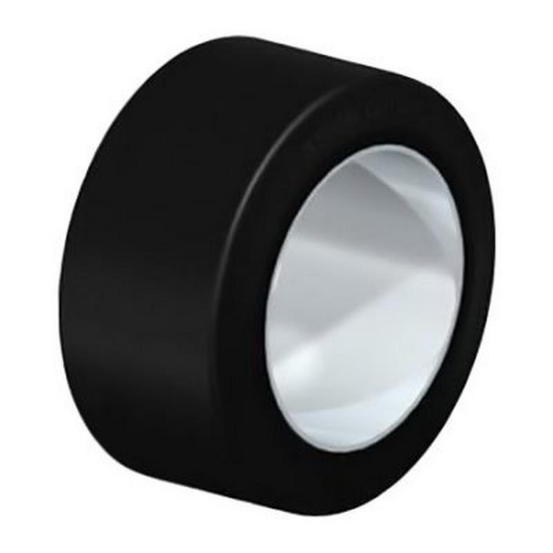 BEV 150x75-100-ZST Elastic Solid Rubber Tread on Steel Ring BEV 360x75-270-ZST