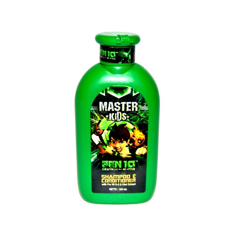 Master KidS Ben 10 Shp 150Ml