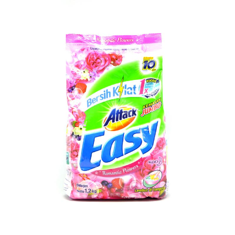 Attack Easy Detergen Romantic Flowers 1.2Kg
