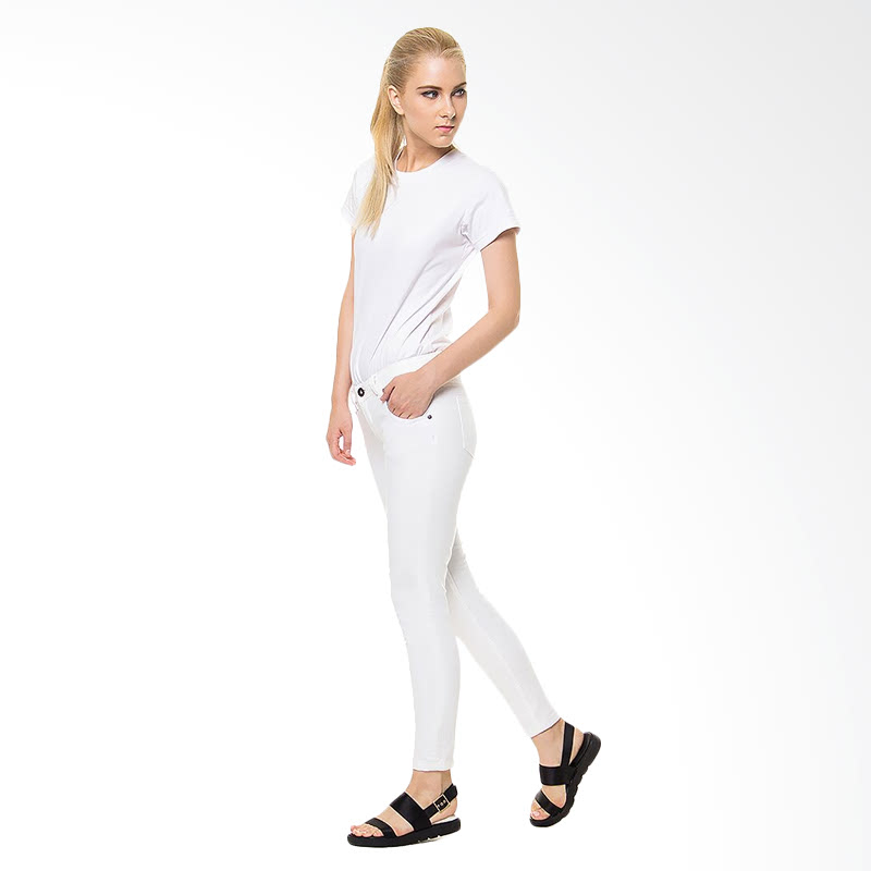 Ladies Jeans Letizia - White