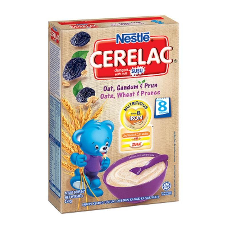 Nestle Cerelac Multi Grain Oat & Prunes 250 Gr