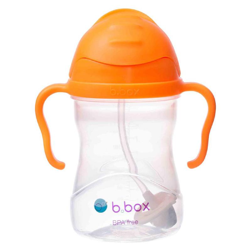 B Box Sippy Cup Orange Zing