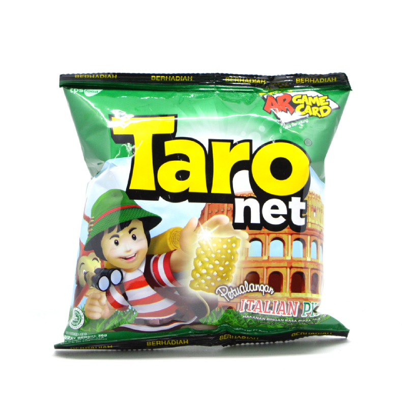Taro Net Snack Italian Pizza 36 Gr