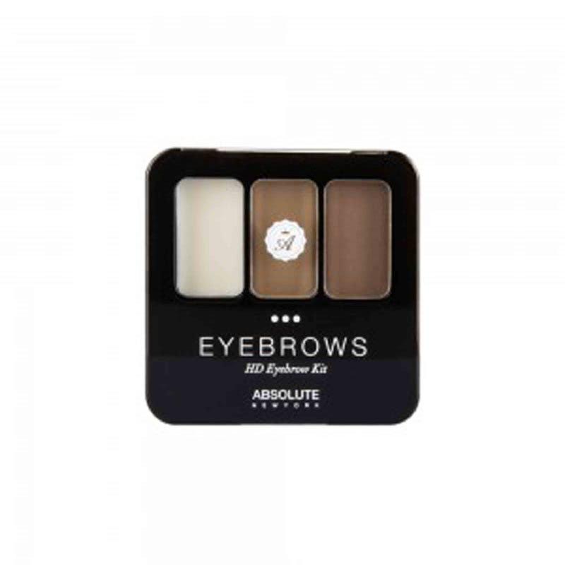 Absolute New York HD Eyebrow Kit Brunette