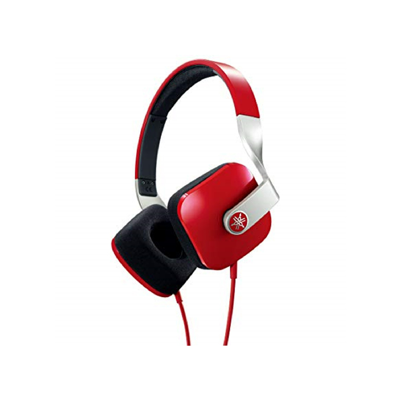 Yamaha HPH-M82 High-Definition On-Ear Headphones Red