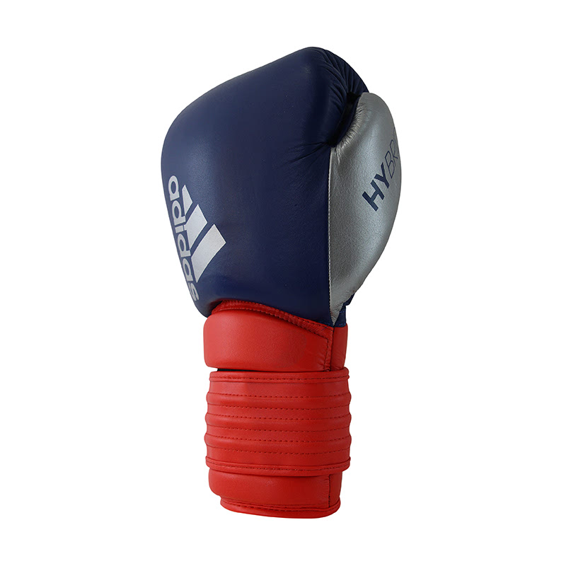 Adidas Combat Hybrid 300 Boxing Glove Core Red Ink Silver