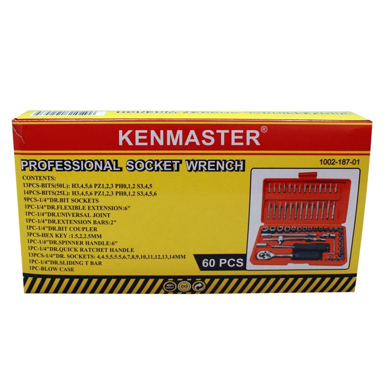 Kenmaster Kunci Sok 60 Pcs