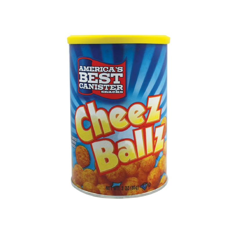 Americas Best Canister Cheez Ballz 3Oz