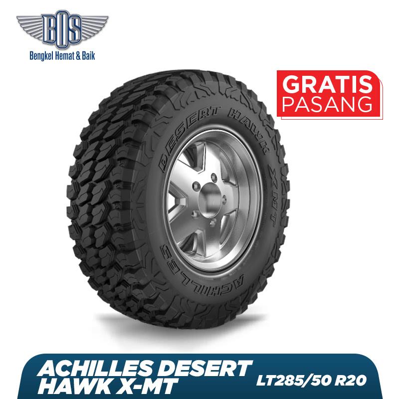 Achilles Ban Mobil  Desert Hawk X-MT - LT285-50 R20 119-116Q 10PR - GRATIS JASA PASANG DAN BALANCING