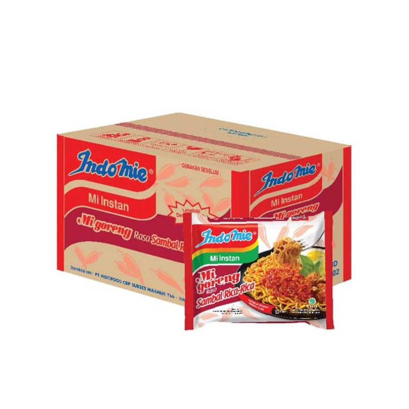 Indomie Mie Instant Goreng Sambal Rica Rica 85 Gr (1 Karton)