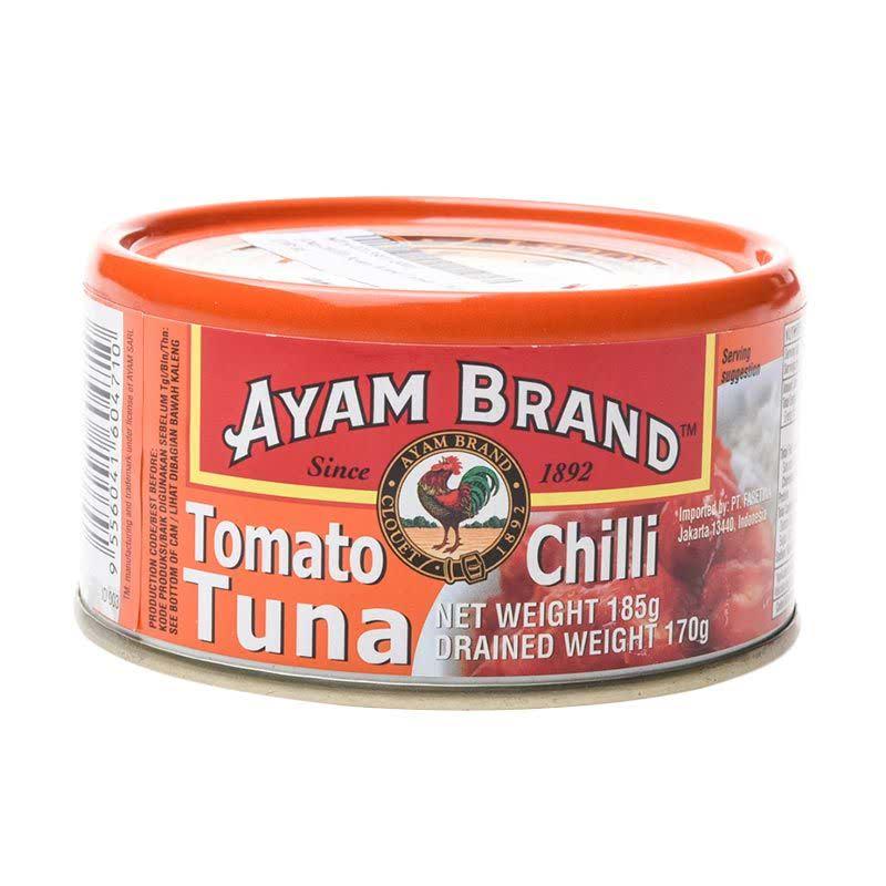 Ayam Brand Tuna Tomato Chili 185 Gram