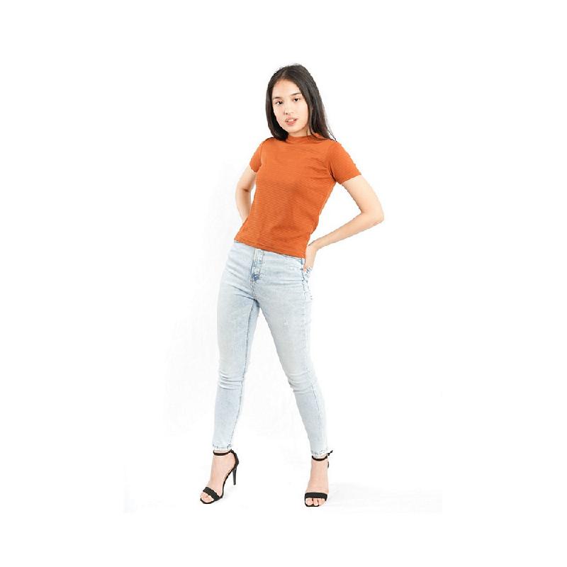 Agatha Short Sleeve T-Shirt Brown