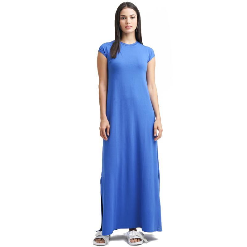 Minimal Slvless Maxi Dress BARE BLUE