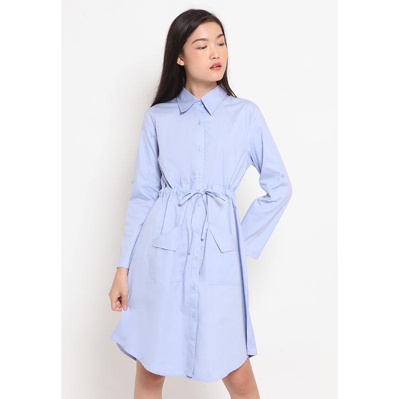 Agatha Agatha Basic Dress Blue