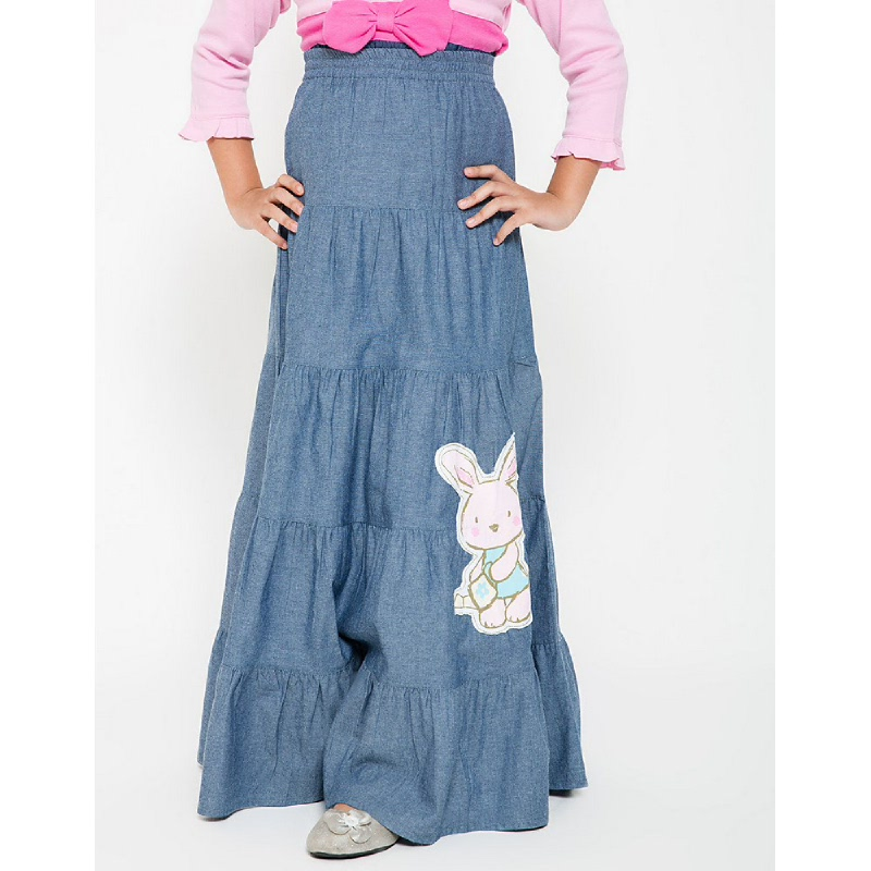 4 You Rabbit Long Skirt