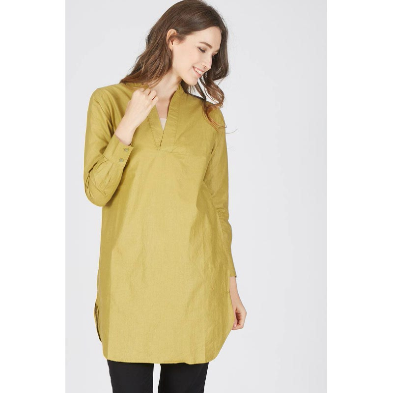 Fransisca Lime Tunic Dress