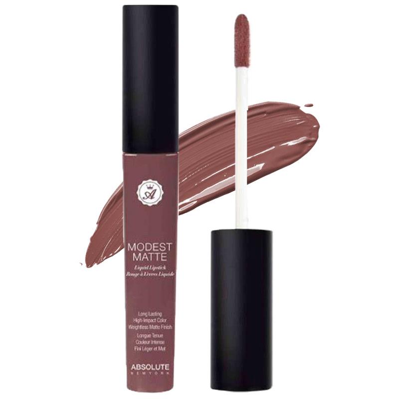 Absolute New York Modest Matte Liquid Lipstick Whisper