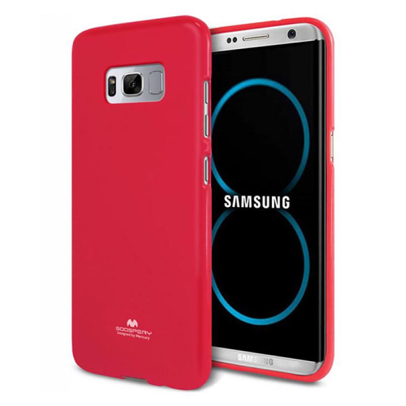 Goospery Jelly Case Samsung Galaxy S8+ Magenta