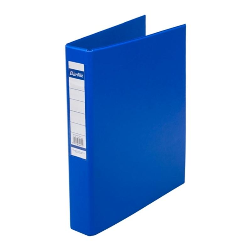 Bantex Ring Binder 3 Ring D 25mm A4 Cobalt Blue -8322 11