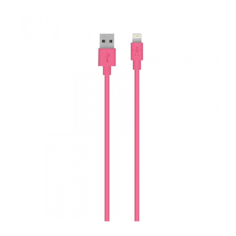 Belkin Lightning To USB Cable 1 2M Pink