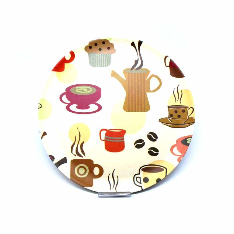 L Living Plate Bamboofiber Jh80094 9 Inch