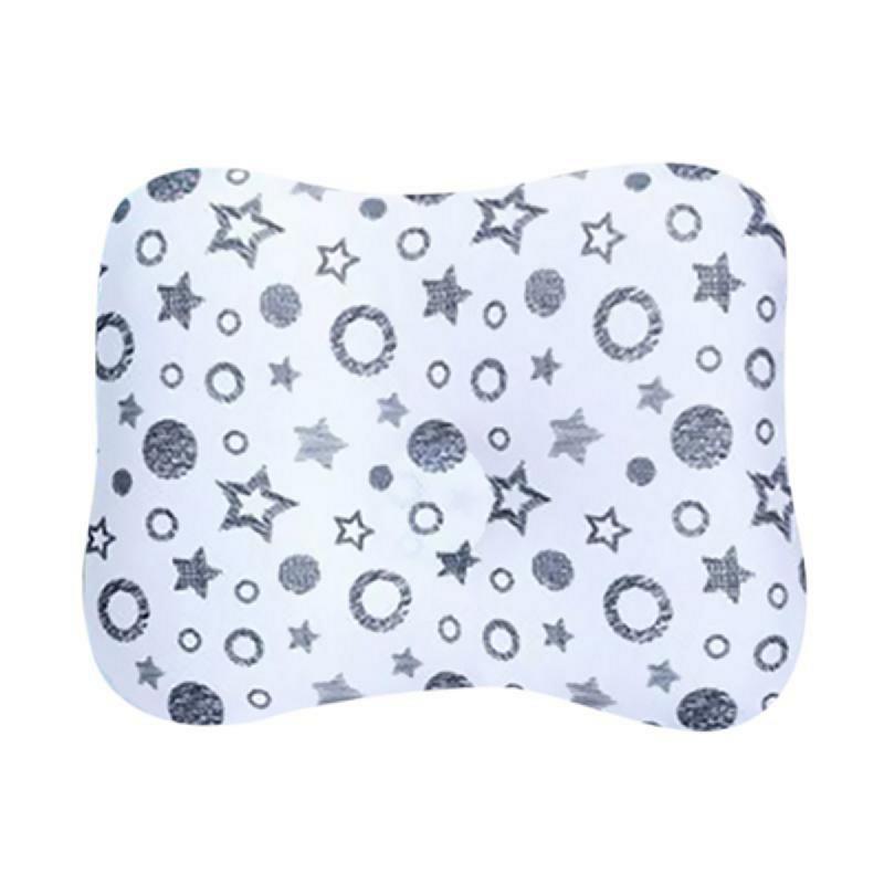 Comfi Star Breathing Pillow for Newborn - Black White