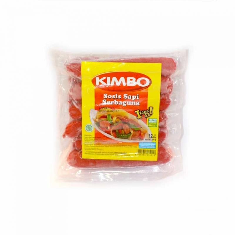 Kimbo Sosis Sapi Serbaguna 396 gr