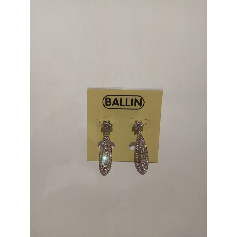 Ballin Women Earing YZ-E4809S Silver